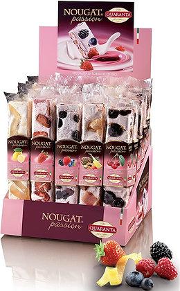 Quaranta Nougat - 100g Fruit Nougat Bars