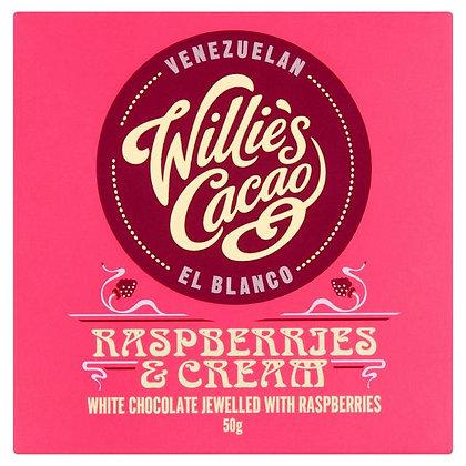 Willie's Cacao - Raspberries & Cream El Blanco White Chocolate