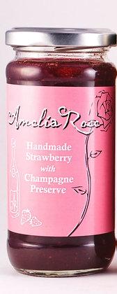 Amelia Rose Handmade Strawberry with Champagne Preserve