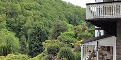 Overlooking fabulous woodland views