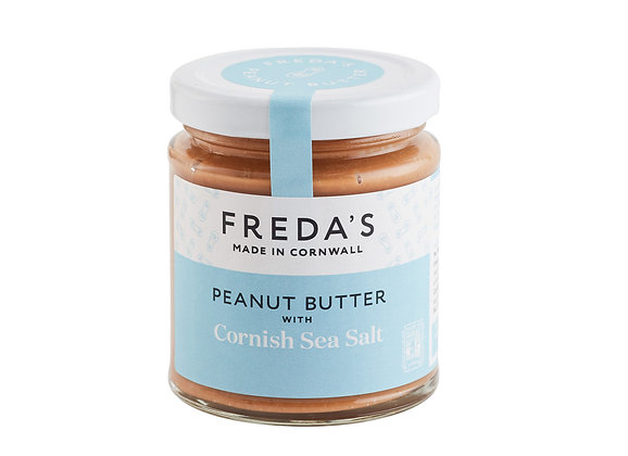 Freda's Peanut Butter with Cornish Sea Salt