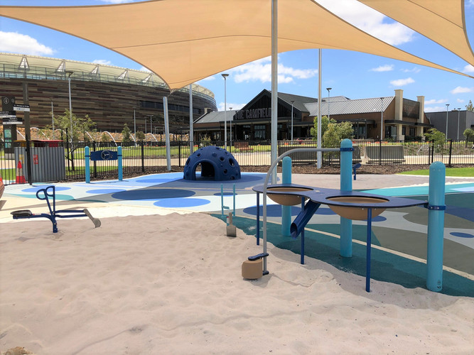 Accessible Super Scoop. Sand and Water Table. Perth Water Play. Playground Supplier. Accessible and Inclusive play.