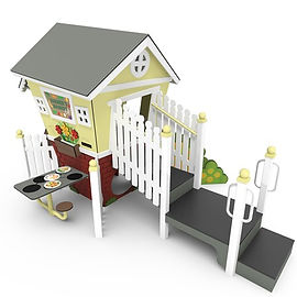 Smart Play Market Cafe. Cubby House. Perth Playground Supplie