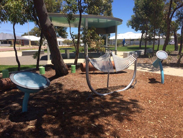 Perrth Music Equipment. Outdoor Rhapsody. Perth Playgrounds.