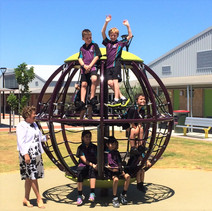Global Motion. Net. Climb. Spin. Perth School Playground Supplier.