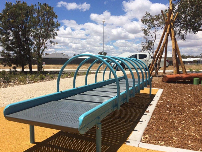 Osprey waters. Roller Table. Perth Playground supplier. Sensory and inclusive play equipment.