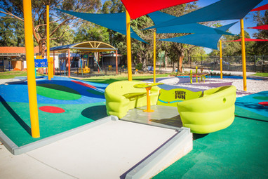 Accessible and inclusive sway fun. Western Australia Public School Playground Supplier