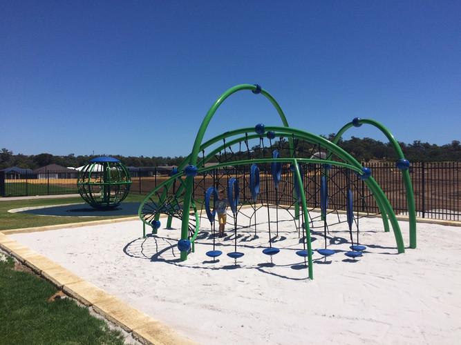 School Playground Supplier. Western Australia. Evos and Global Motion in Baldivis.