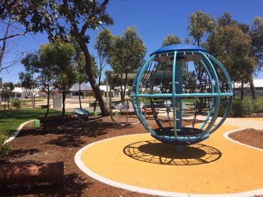 Global Motion. Transfer Height. Outdoor Music Equipment. Playground Supplier. Western Australia.