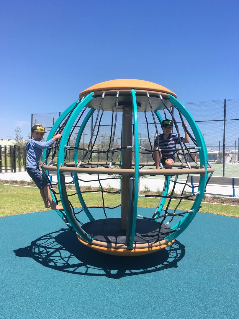 Global Motion Playground Equipment. School rope play.