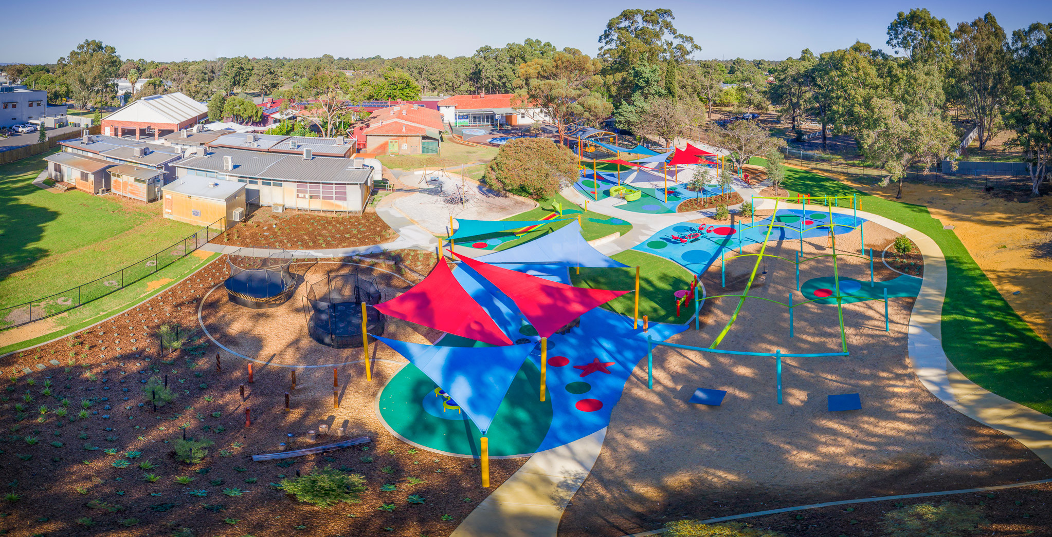 Kenwick School Playground Design. Accessible and Inclusive Play