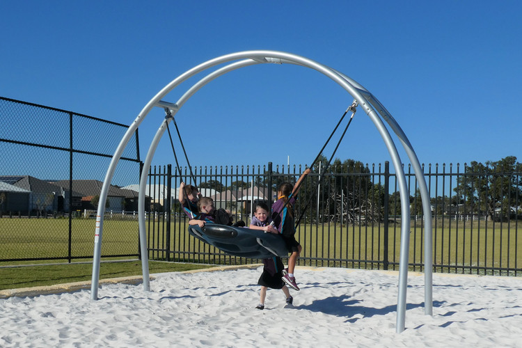 Oodle Swing. Perth Playgrounds. School Play