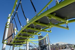Bridge over. Monkey bars under. School supplier. Western Australia