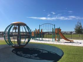Global Motion Recreational Equipment. Perth School Supplier. Slide Playground