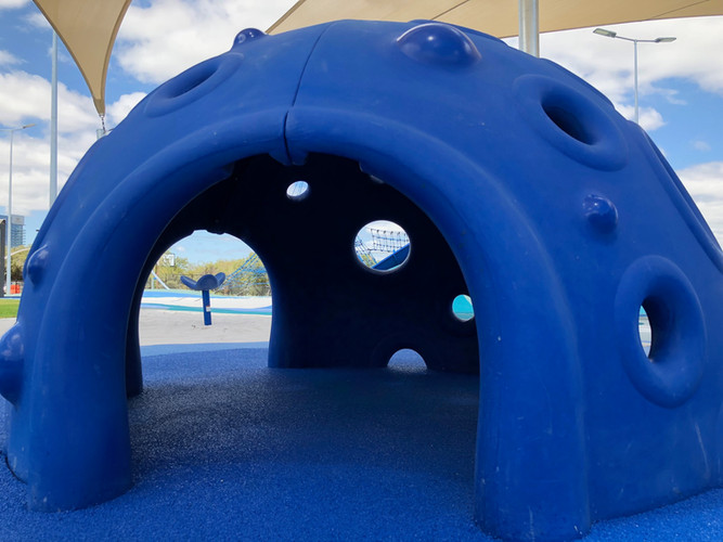 Cozy Dome at Optus Stadium Perth. Playground Supplier