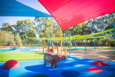 Landscape Structures Inc Custom Hippo Perth School Playground Design