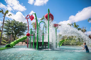 Waterplay activity tower. Perth Water Playground Suppliers.