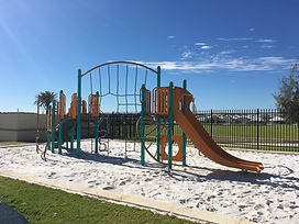 PlayBooster playground with slide and net. Perth western australia