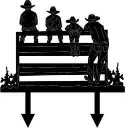 Cowboy-Yard-Stake-5