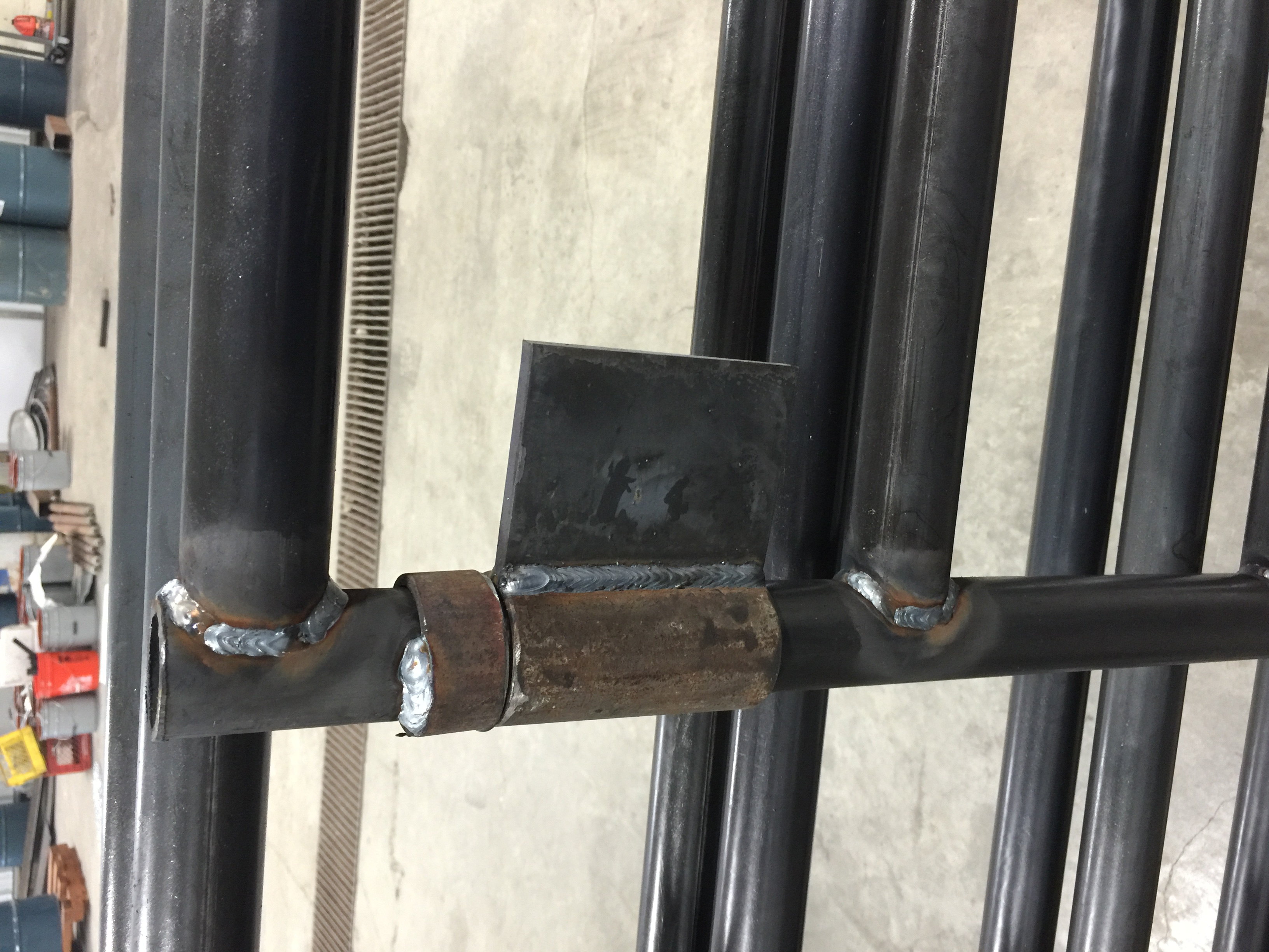 Corral Gates weld on style hinge