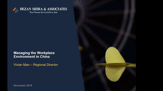 Managing the Workplace Environment in the U.S. and China