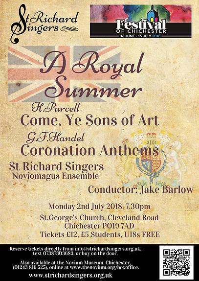 St Richard Singers March Concert 2018