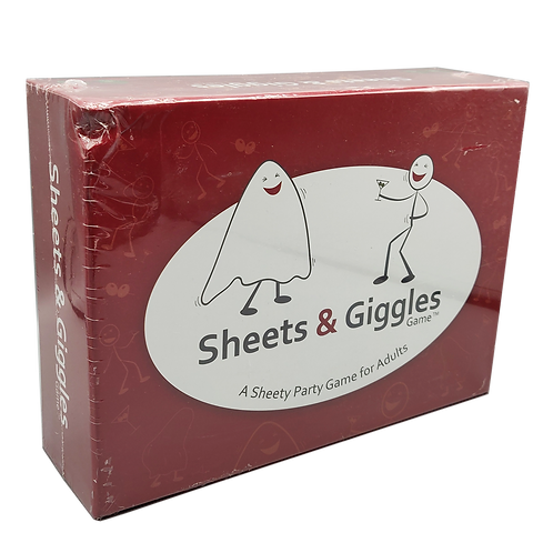 The Sheets & Giggles Game- Rough, Dirty & Damaged