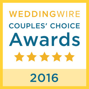 WeddingWire Couple's Choice 2016 Award