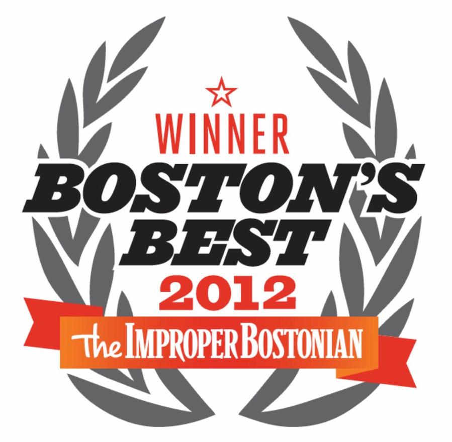Improper Bostonian Boston's Best Wedding Band Award