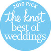 The Knot Best of Weddings 2010 Award