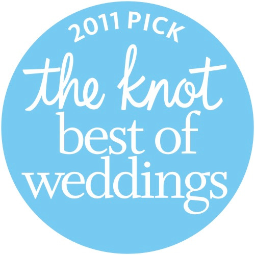 The Knot Best of Weddings 2011 Award
