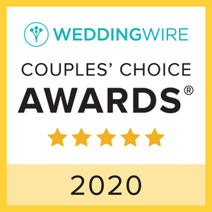 WeddingWire Couple's Choice 2020 Award
