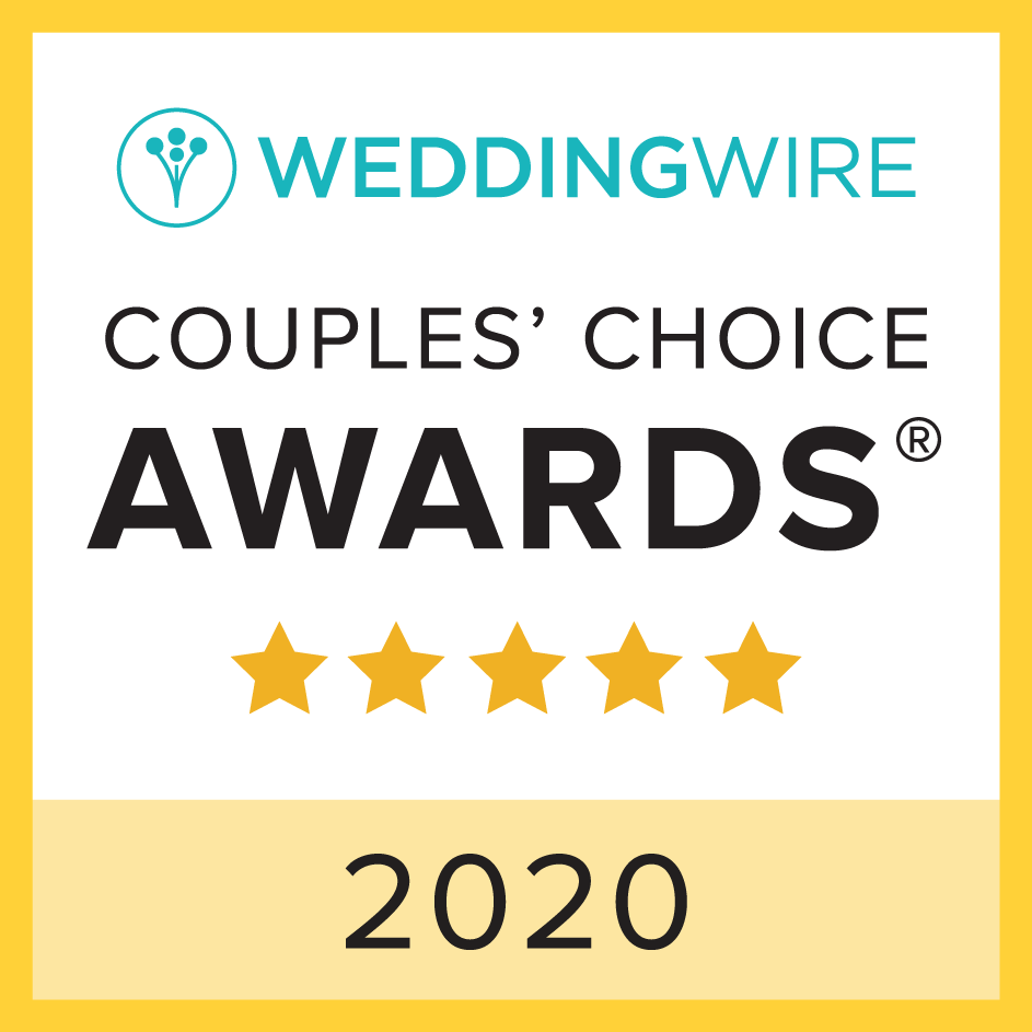 WeddingWire Couple's Choice 2020 Award