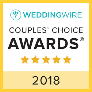 WeddingWire Couple's Choice 2018 Award