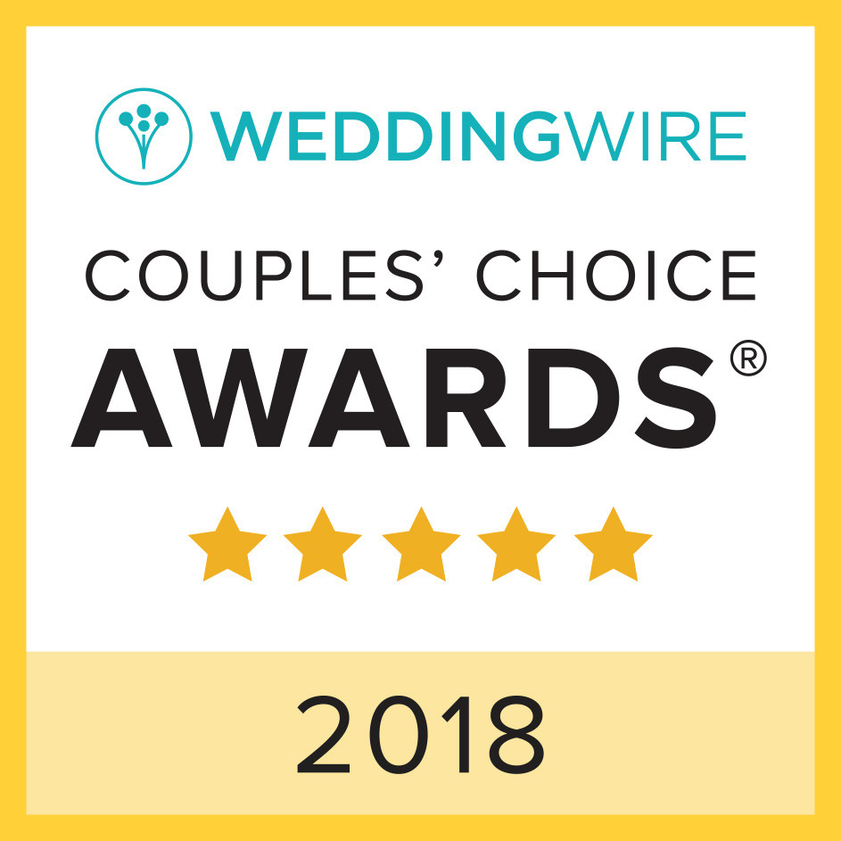 WeddingWire Couple's Choice 2018 Award