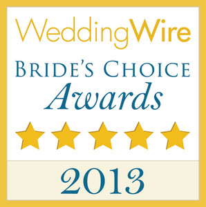 WeddingWire Couple's Choice 2013 Award