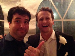 Julian with Actor David Moscow