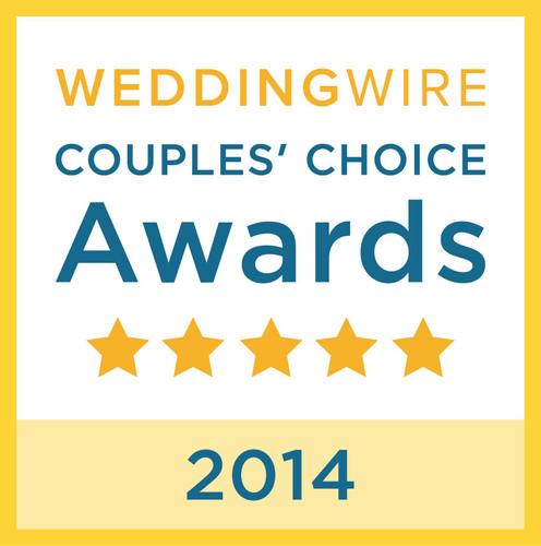 WeddingWire Couple's Choice 2014 Award