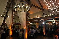 Boston wedding band Brick Park offers custom uplighting for your wedding!
