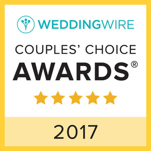 WeddingWire Couple's Choice 2017 Award