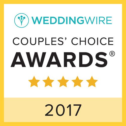 WeddingWire Couple's Choice 2017 Award