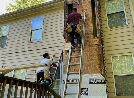 Restoring a single mom's home -  and her hope
