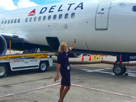 From catching flights to answering phones - Meet one of our volunteers, Sandy Overall