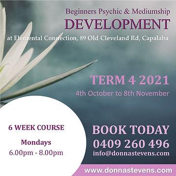 Beginners Psychic & Mediumship Developme