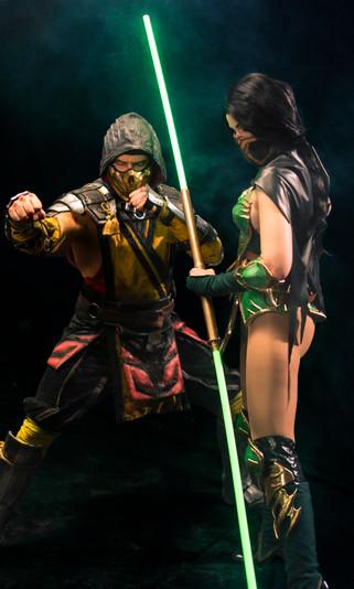 Mortal Kombat BTS - Jade & Scorpion.JPG
