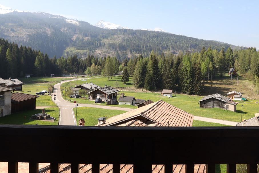 Vista dalla camera del Garnì Belvedere