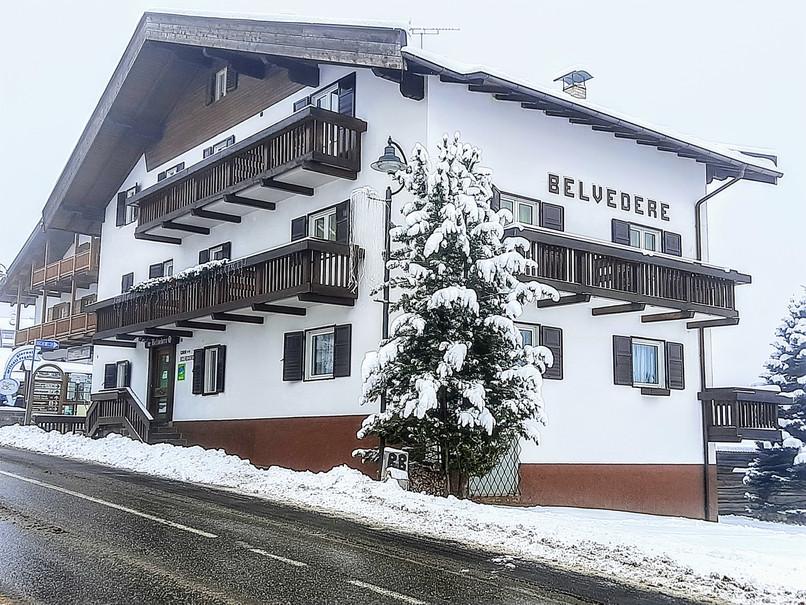 Garnì Belvedere in inverno