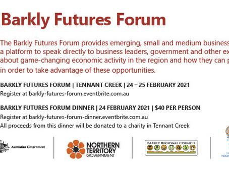 Barkly Futures Forum 2021