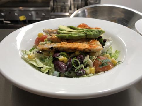 Grilled chicken Buffalo Salad