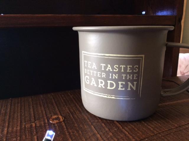 Citronella Enamel Garden Mug
